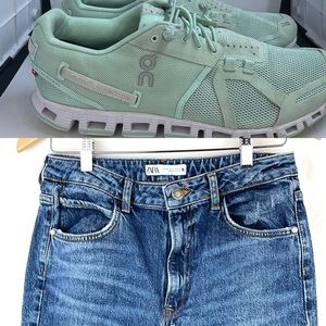 Build your outfits with shoes, jeans and tops